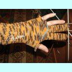 Учимся вязать перчатки.